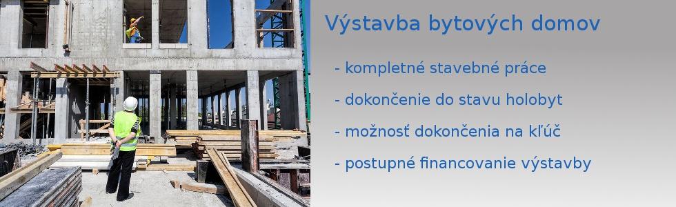 Výstavba bytových domov
