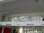 Montáž kazetových stropov v Trnave