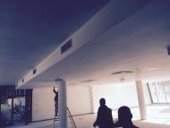Montáž kazetových stropov